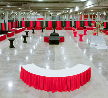 172,000 Square Feet<br />of Function Space